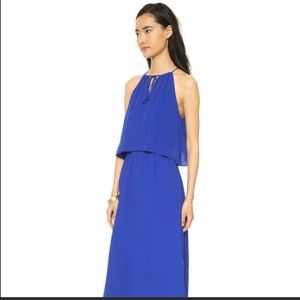 Madewell royal blue maxi dress Size:0